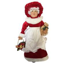 60CMH STANDING MRS CLAUSE