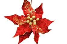 RED AND GOLD FLOWER (12)