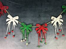 178CML METAL BOW GARLAND