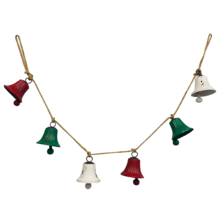 RED/GREEN / WHITE BELL GARLAND