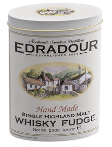 EDRADOUR WHISKEY FUDGE TIN (12)
