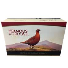 THE FAMOUS GROUSE TOFFEE CARTON  (6) WHISKEY TOFFEE