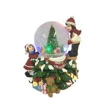 LED 12CMD GLOBE WITH KIDS DECORATING TREE