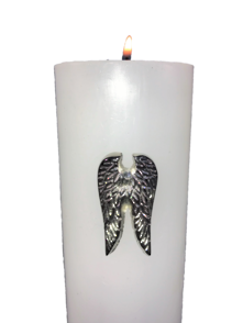 WING CANDLE PIN-NICKEL (12)