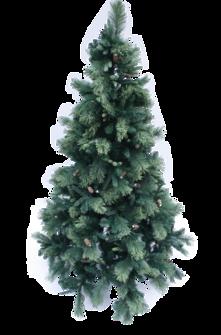 210CMH PINE TREE w/ PINECONES