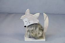 WOOD AND FUR FOX SMALL (12)