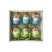 BOX 6 BLUE & GREEN EGG CHICKS (6)