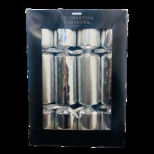 BOX12, 30CM SILVER DIAMOND CRACKER (6)