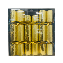 BOX6, 30CMGOLDEN DIAMOND CRACKERS (6)