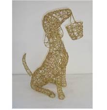GLITTER DOG HOLDING BASKET