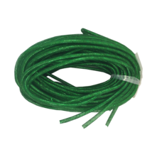 GREEN STRETCHY TUBE RIBBON (6)