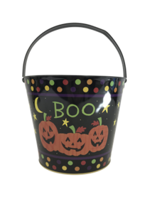 "HALLOWEEN PUMPKIN ""BOO"" BUCKET"