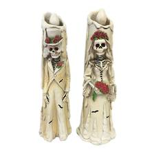LED PAIR WEDDING SKELETONS