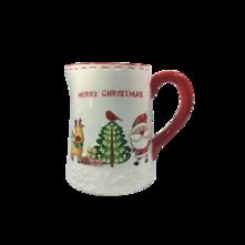 CERAMIC CHRISTMAS JUG