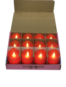 7CMH RED LED CANDLE (12)