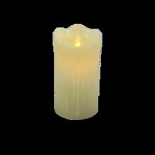 12CMH LARGE WHITE LED WAX CANDLE (6)