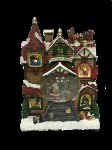 LARGE HOUSE SNOWGLOBE