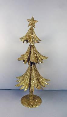 41CMH GOLD METAL GLITTER TREE