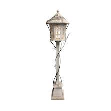 120CMH, 20LED WOODEN LAMP POST