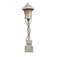 102CMH, 20LED WOODEN LAMP POST