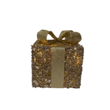15CMD CHAMPAGE GOLD COTTON GIFTBOX WITH LIGHT