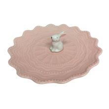 PINK BUNNY PLATE