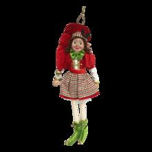 RED/GREEN GIRL ELF