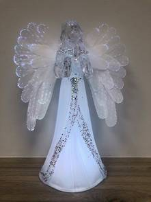 23CMH FIBER-OPTIC PRAYING ANGEL