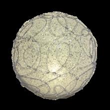 16CMD WHITE LED BALL