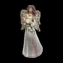 31CMH RUSTIC CERAMIC WHITE ANGEL
