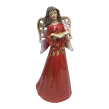31CMH RUSTIC CERAMIC RED ANGEL