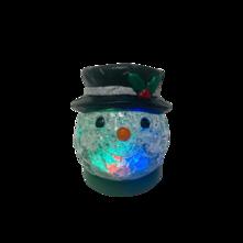 SNOWMAN HEAD SNOWGLOBE