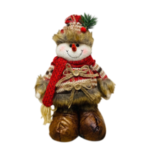 SNOWMAN IN FUR, KNITTED TOPS