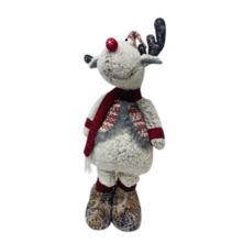 60CMH FROSTED PLUSH DEER
