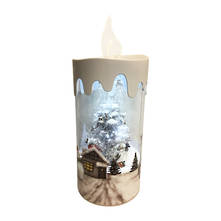 SNOWING TREE CANDLE