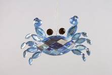 BLUE JEWEL CRAB OVAL BODY (12)