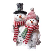 RESIN SNOWMAN COUPLE