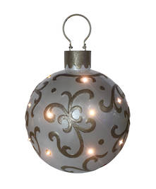 36CMD PEARL LED BAUBLE