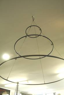 METAL HANGING RINGS FOR BAUBLES