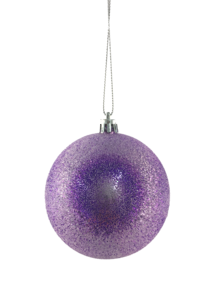 8CMD FROSTED PURPLE BALL HANGER (12)