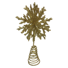 18CMH GOLD SNOWFLAKE TREE TOPPER (6)