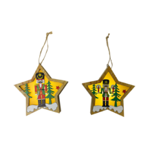 SET2 STAR NUTCRACKER LED HANGERS