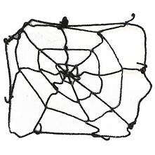 7FT LARGE SPIDER WEB