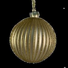 8CMD MATT GOLD RIBBED BALL HANGER (12)