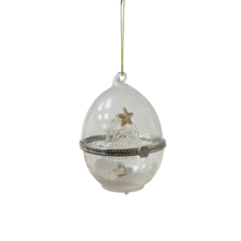 GLASS OPENING EGG WITH GLASS ANGEL AND STAR (6)