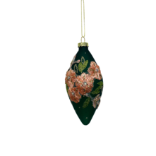 GREEN WITH PINK EMBROIDERY GLASS OLIVE (12)