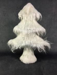 SMALL WHITE ICE FUR TREE