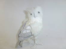 WHITE FEATHERED OWL