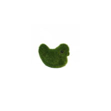 SMALL GREEN FLOCKED CHICK (6)