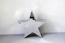 LARGE STAINLESS STEEL TABLE TOP STAR